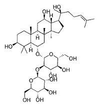 Ginsenoside Rf CAS NO.52286-58-5